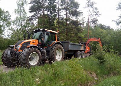 traktorarbete